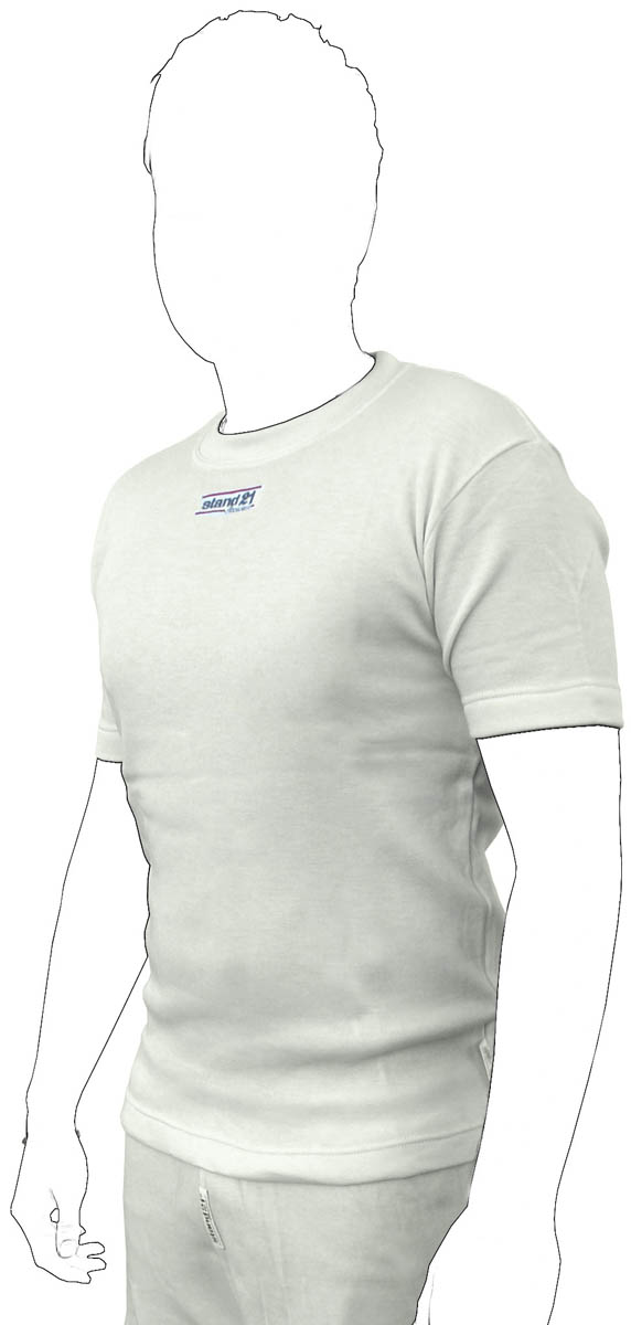 Non-homologated short-sleeved underwear top