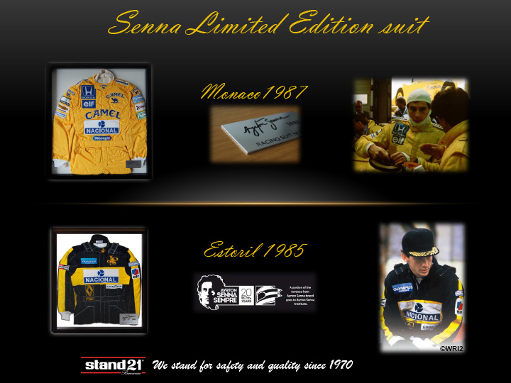 Senna limited racing suits